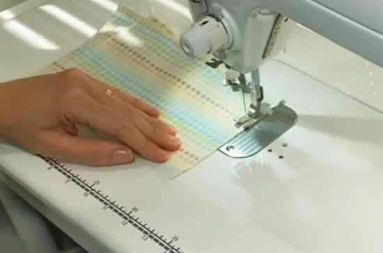 Confeccionando máscara de tecido