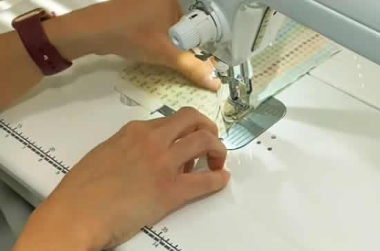 Fazendo máscara com tecido