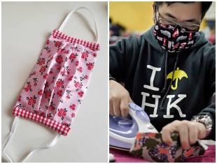 Como fazer máscara de tecido