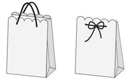 Faça uma sacola de papel