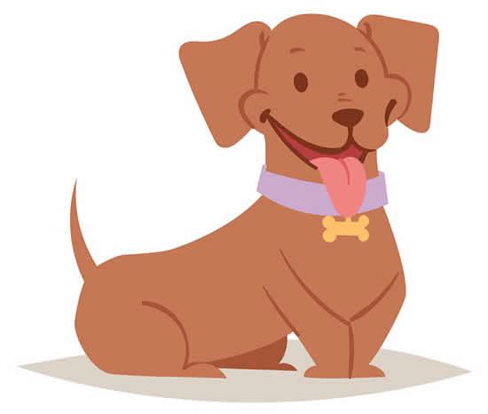 Desenho de cachorrinho