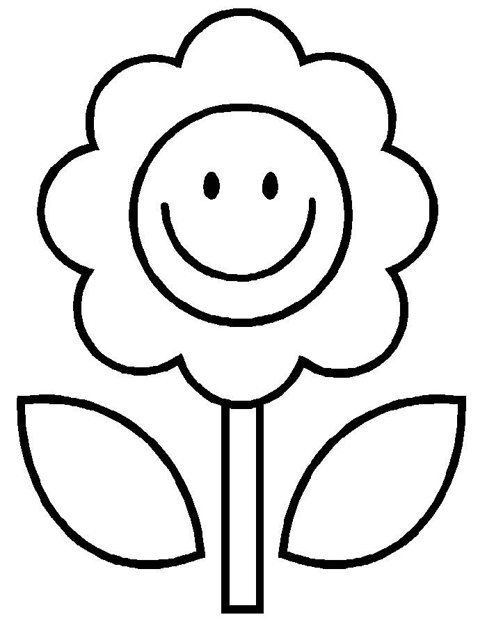 Desenhos de flores para colorir