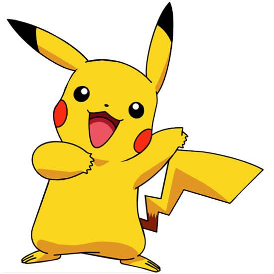 Desenho de Pikachu