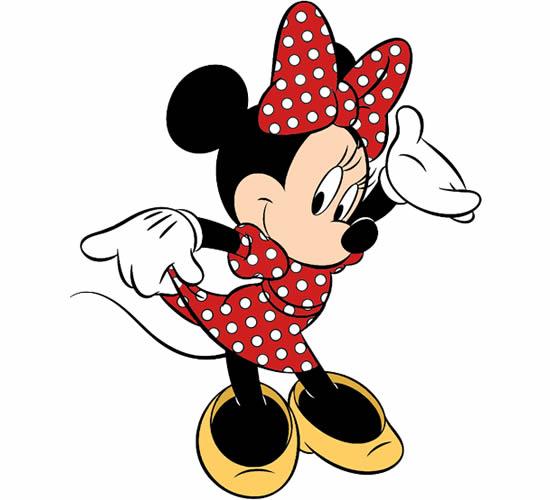 Desenho da Minnie Mouse