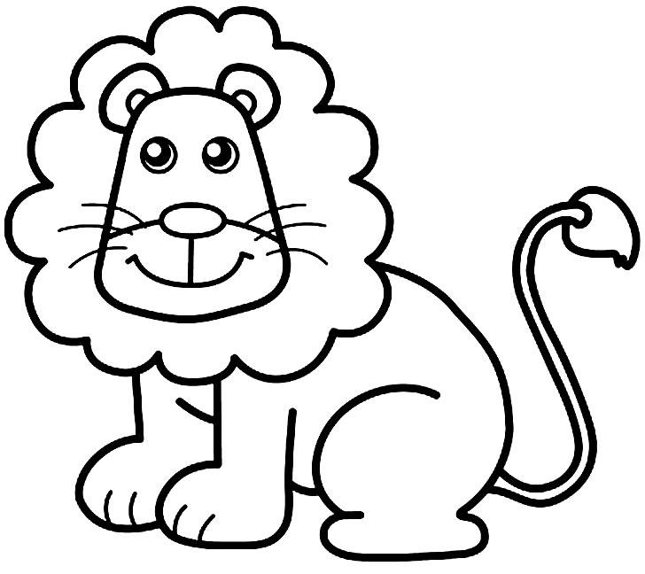 Desenho de leão