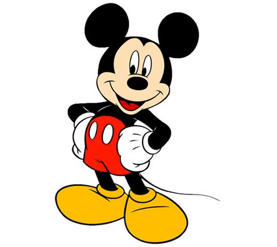 Desenho do Mickey Mouse