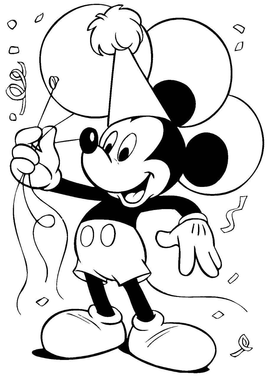 Desenho legal do Mickey Mouse