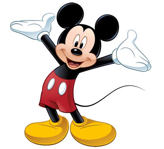 Desenho Lindo do Mickey
