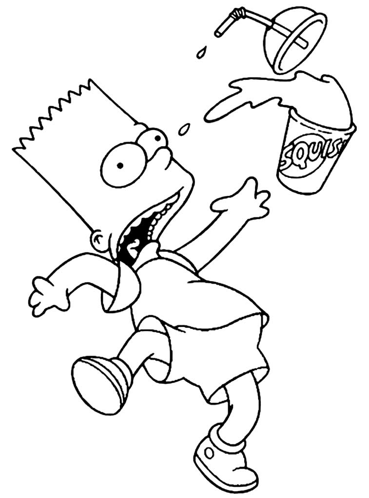 Bart Simpson - Desenhos dos Simpsons