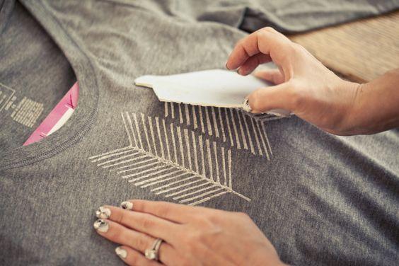 carimbo para tecido