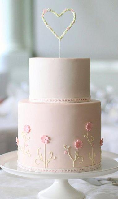 bolo de batizado feminino