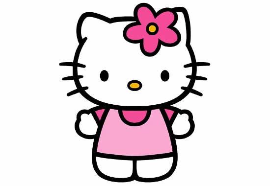 Desenho da Hello Kitty