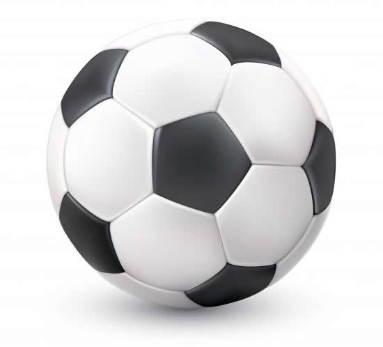 Desenho de bola de futebol