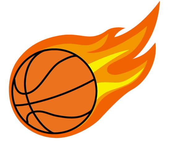 Desenho de bola de basquete