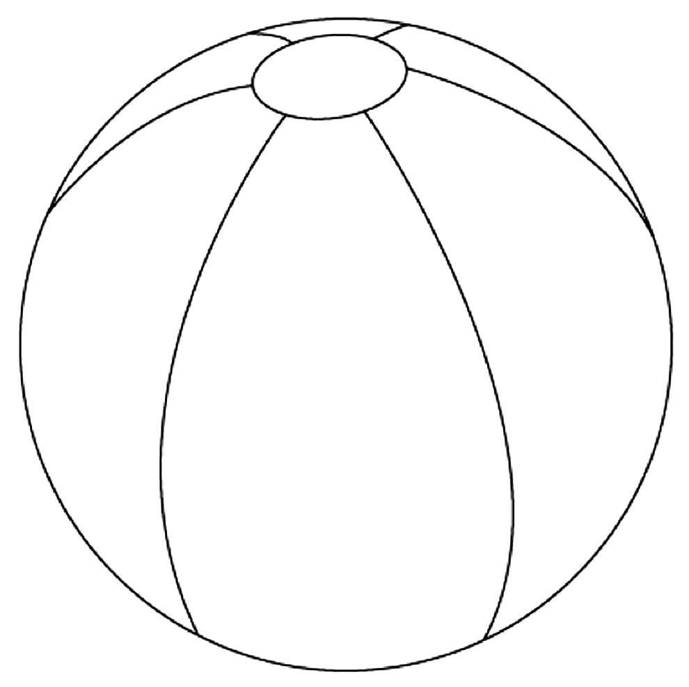 Imagem de bola para pintar
