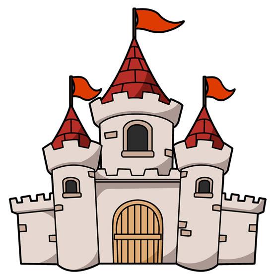 Molde de castelo