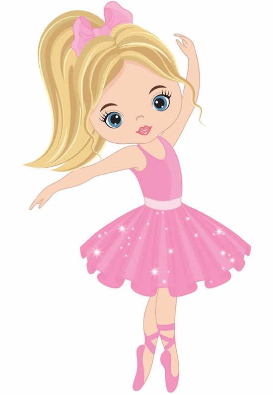Desenho de Bailarina