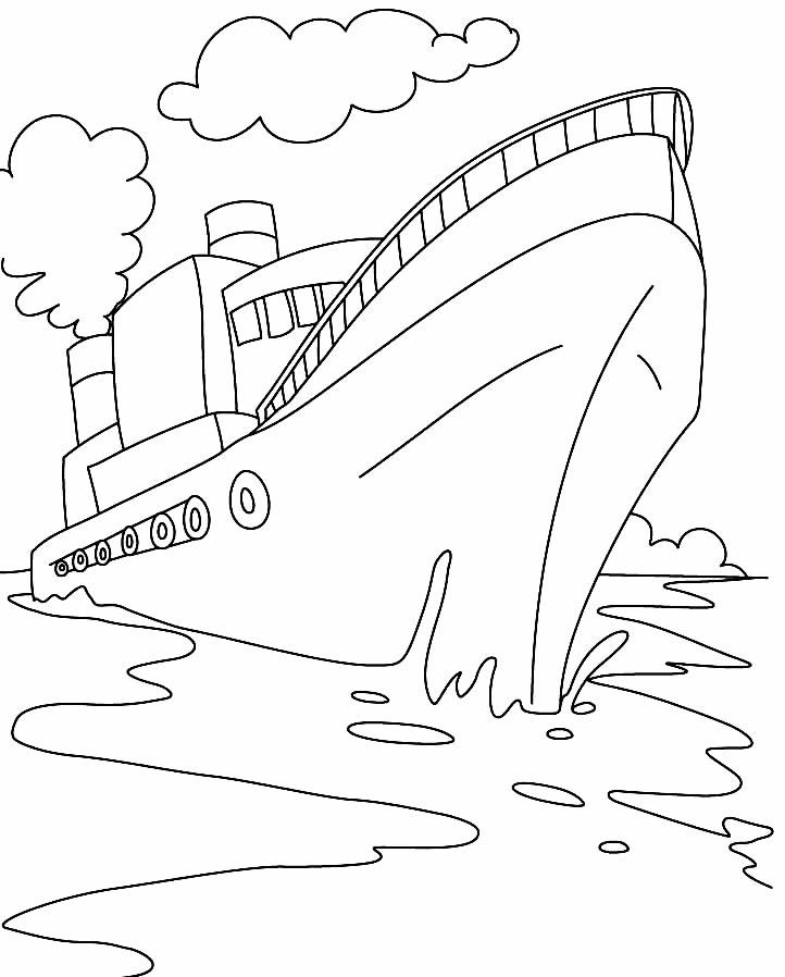 Desenho de navio
