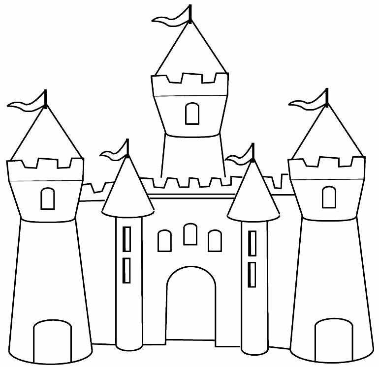 Imagem de castelo para imprimir