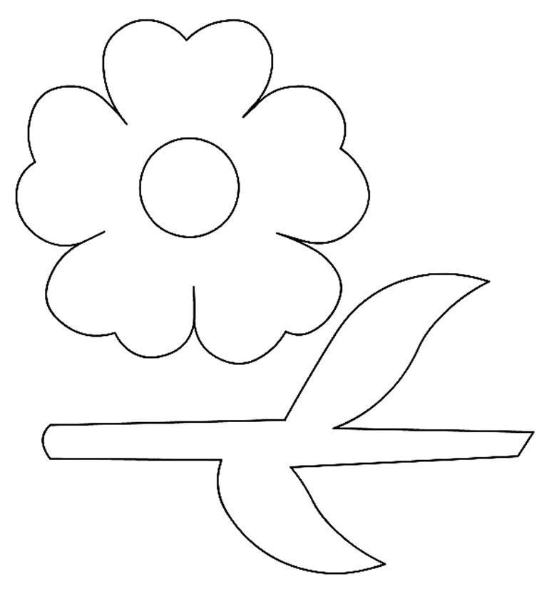 Molde de flor de papel