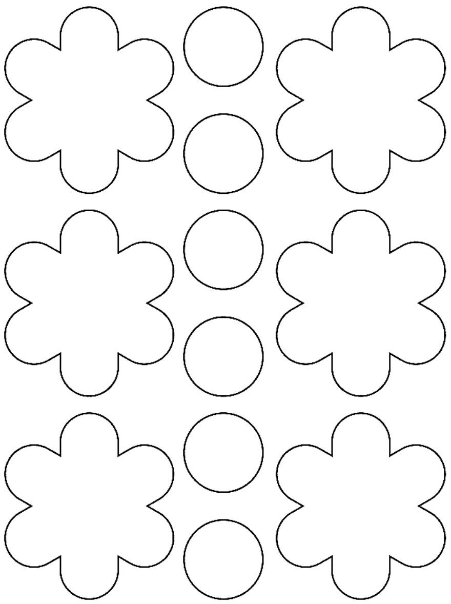 Moldes para fazer flores de papel lindas