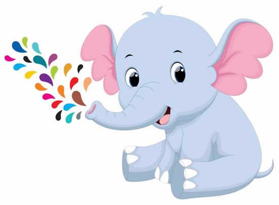 Desenho de Elefante