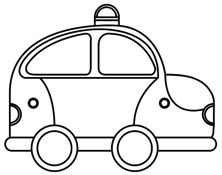 Desenhos de carro de polícia