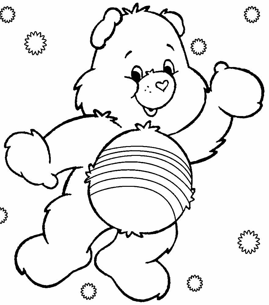 Molde dos Ursinhos Carinhosos para imprimir