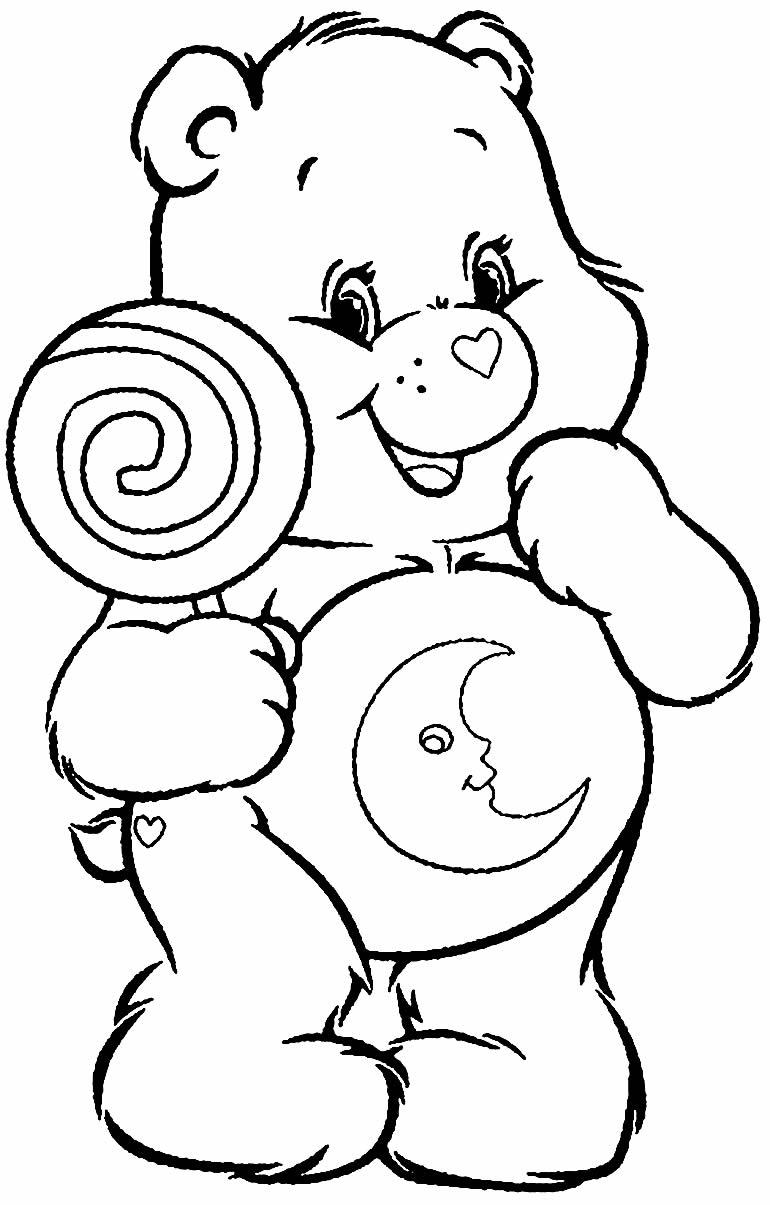 Imagem dos Ursinhos Carinhosos para colorir