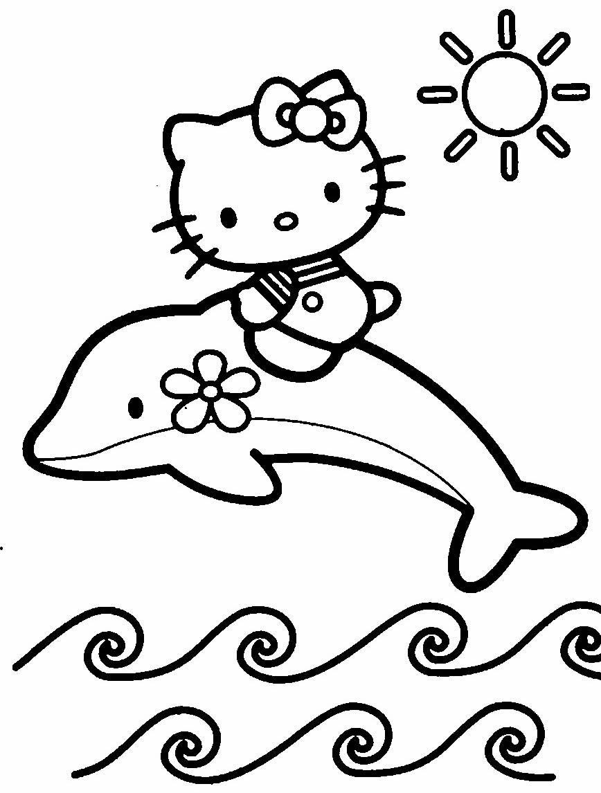 Imagem de golfinho para colorir