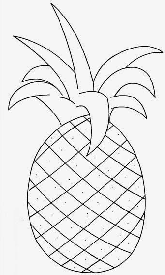 Molde de abacaxi