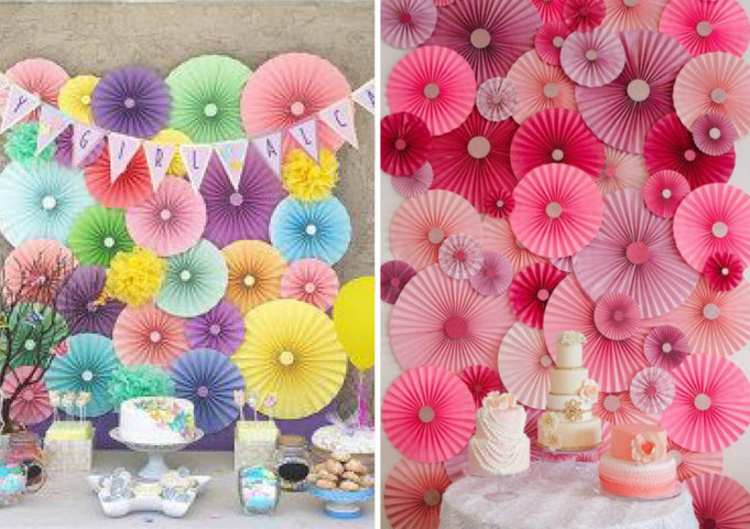 flores de papel sanfonadas