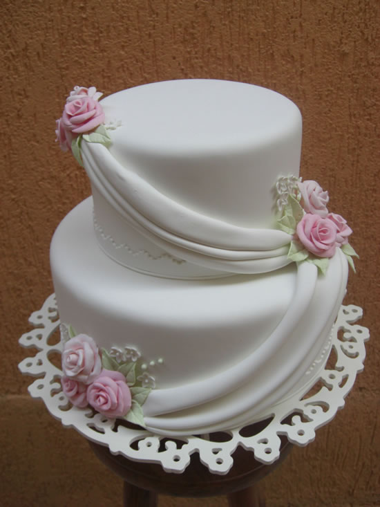 Ideia de bolo de dois andares