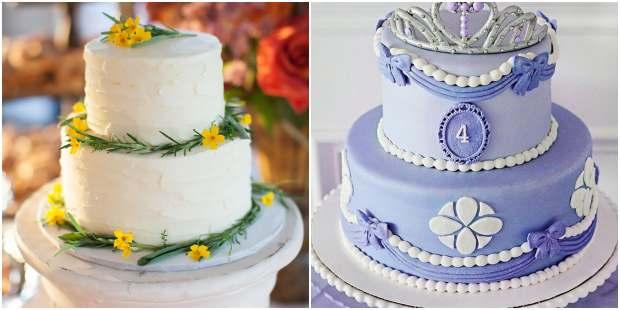20 ideias de bolo de dois andares