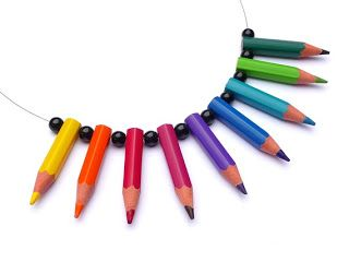 colar de lápis