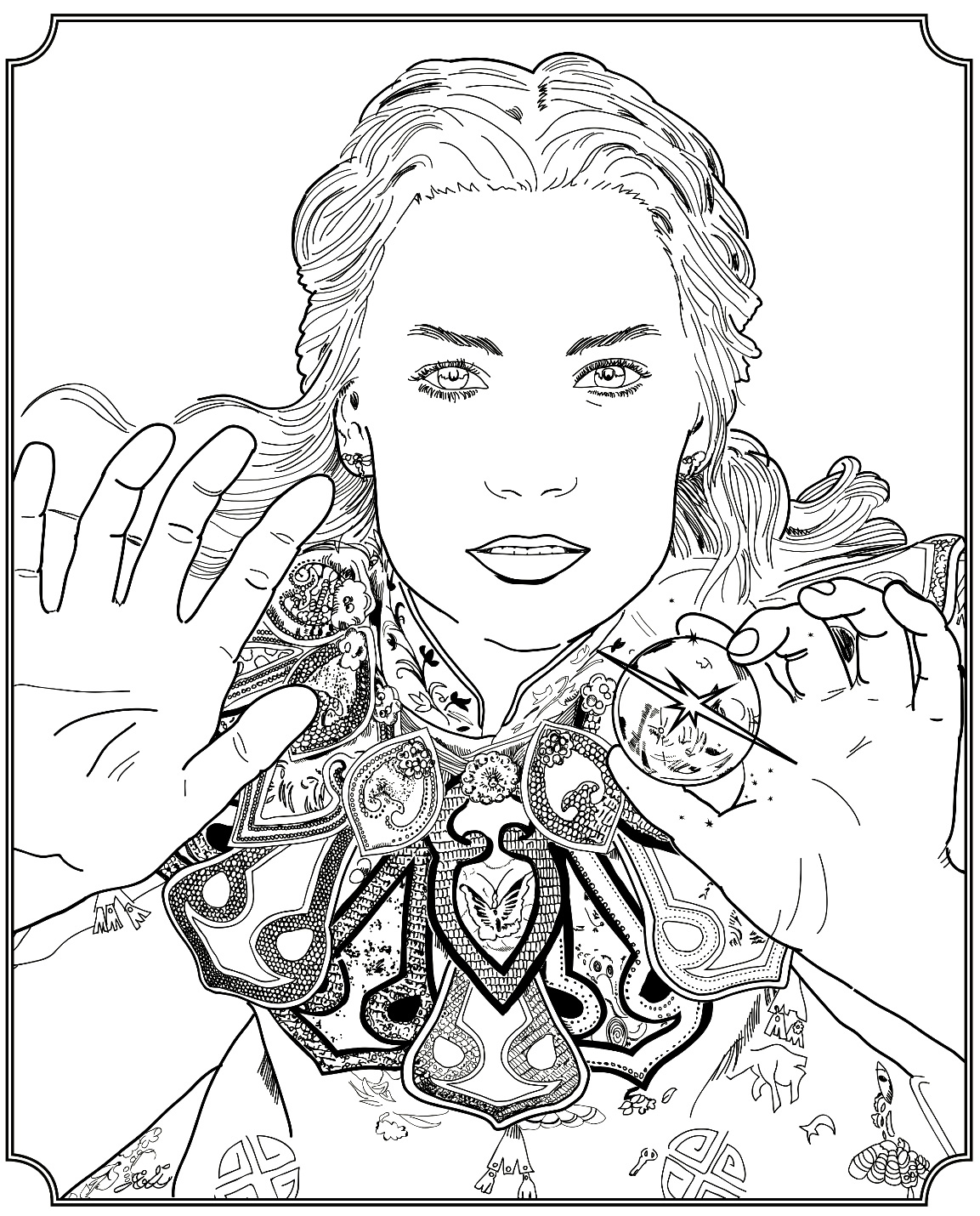 Desenho do filme Alice no País das Maravilhas para colorir