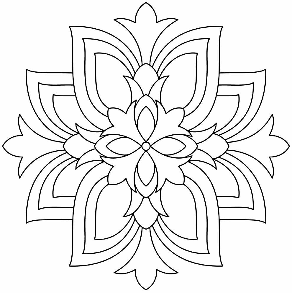 Imagem de Mandala para pintar