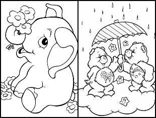 Desenhos infantil para colorir
