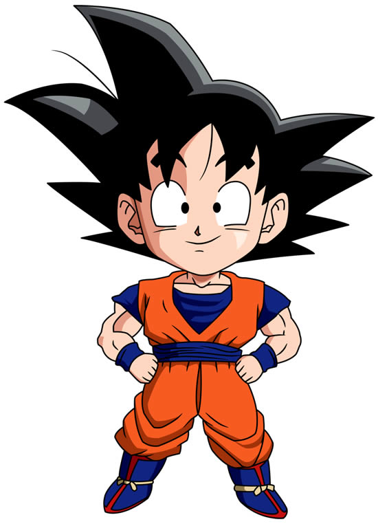 Molde do Goku