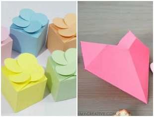 10 moldes de caixinhas de papel