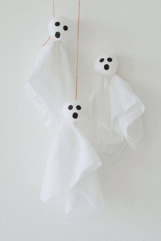 fantasminhas para o halloween