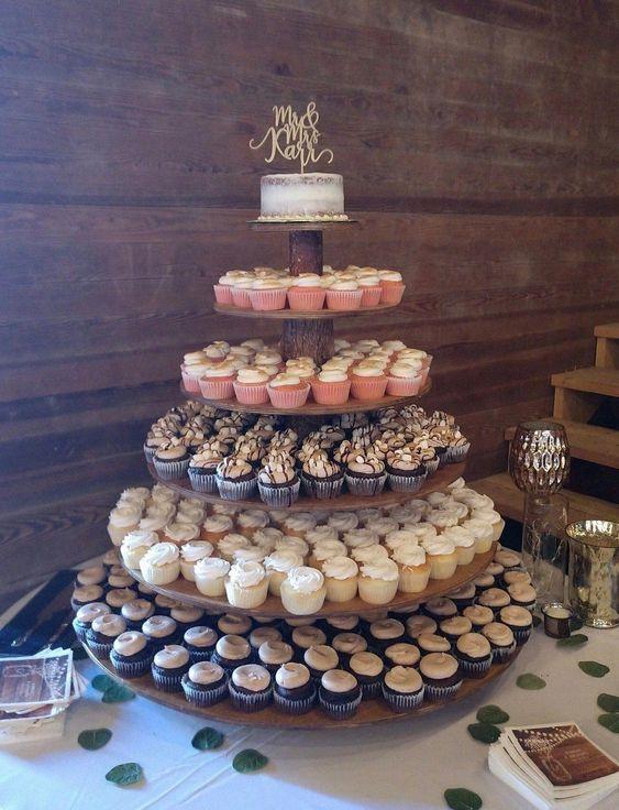 Como fazer torre para cupcakes
