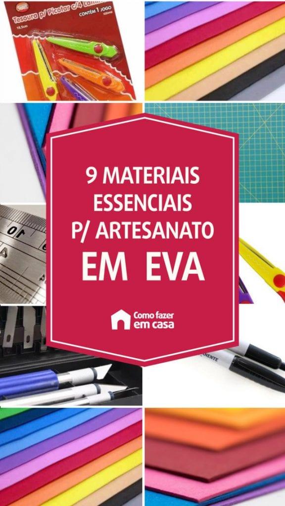 ferramentas para trabalhar com EVA