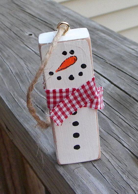 Enfeites de Natal fáceis de fazer com madeira e gravetos