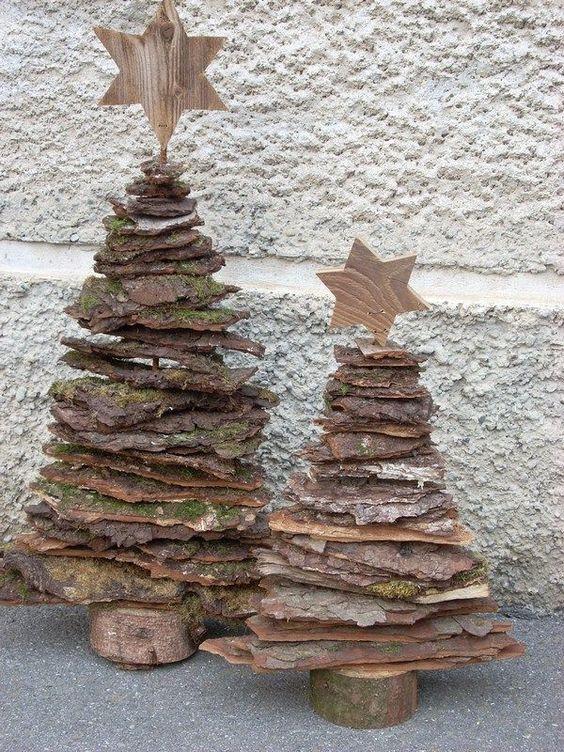 cascas de árvore