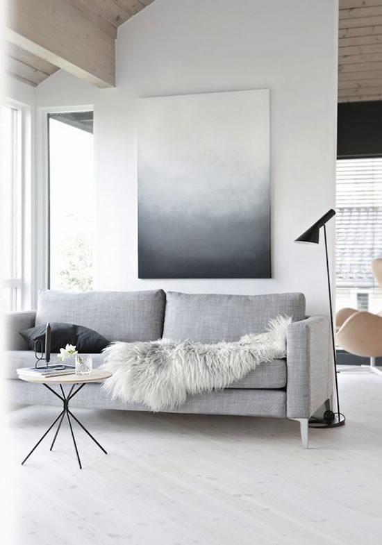 Decoração minimalista para decoração da casa