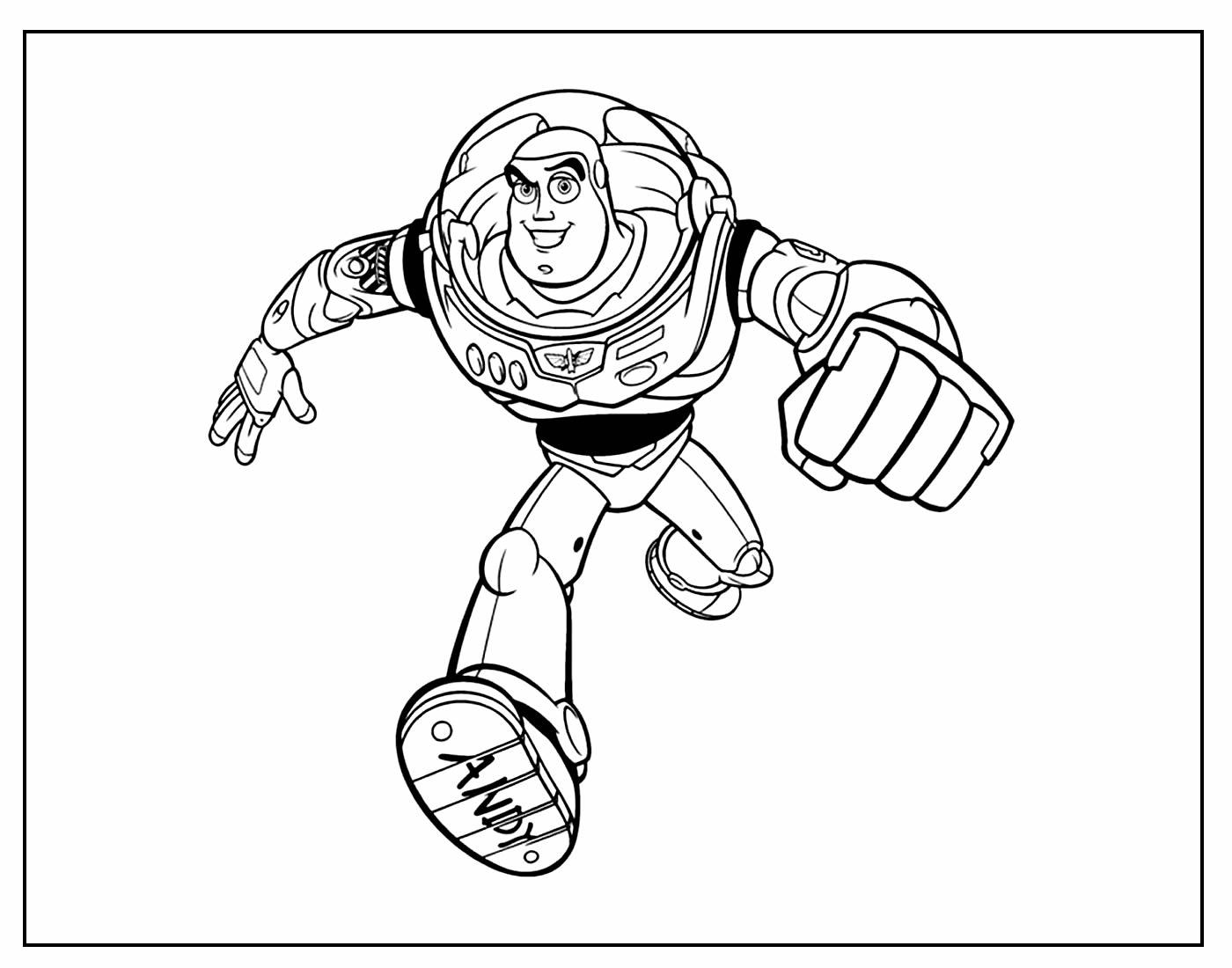 Desenho para colorir de Toy Story