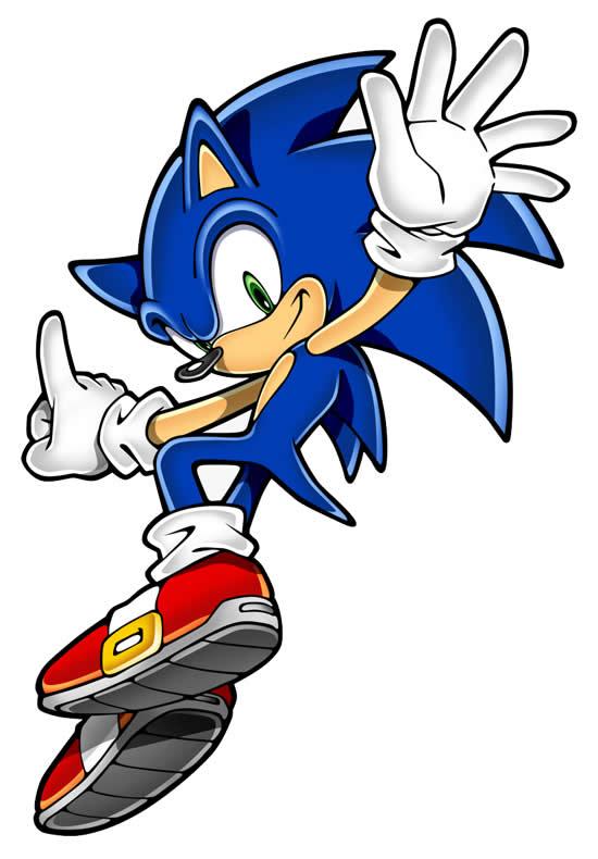 Molde do Sonic