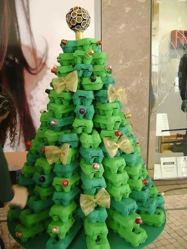 Enfeite para Natal barato e fácil