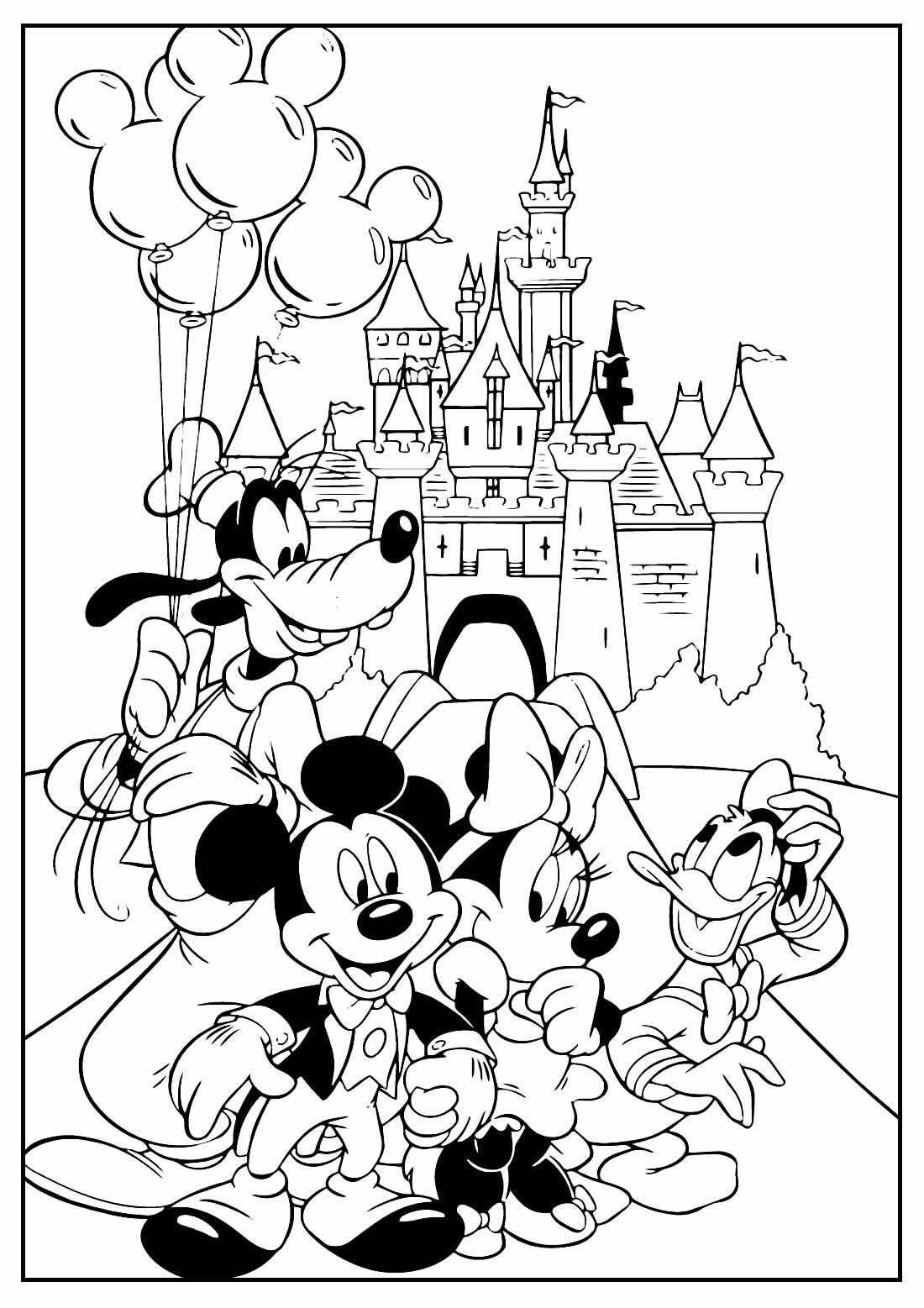 Desenhos lindos do Mickey Mouse